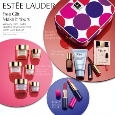 Estee Lauder FREE 8-piece gift with any $35 purchase at Macy's – a ...