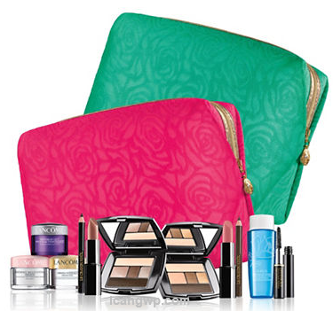 Exclusive 7pc Lancome purchase of 3950 or morea $113 value - Lord and Taylor 2016-03