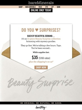 bareminerals 07 2015 11pc surprise