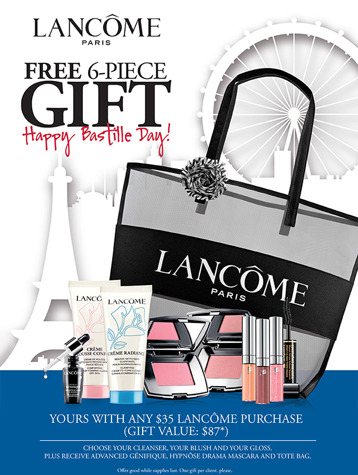 Head To Head Lancome Free Gwp July 2015 At Dillards Vs Estee