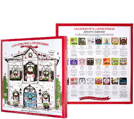 qvc 09 2015 pourri and co 24pc assorted advent calendar 4989 plus 5 2