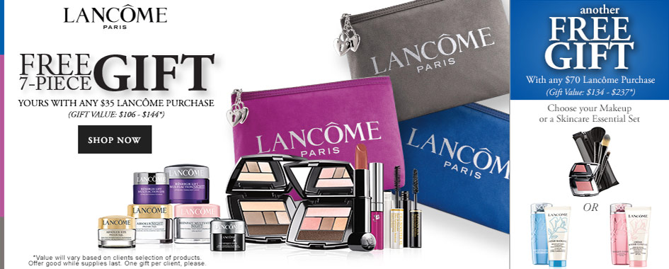 Get Your Hands On New Lancome Fall Gift Dillards Today Only Deal LOccitane Oct 2015