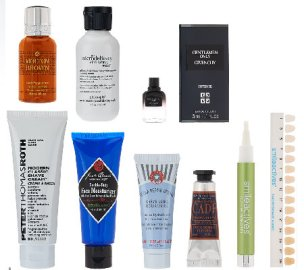 qvc 10 2015 beauty man of the hour 8pc men collection
