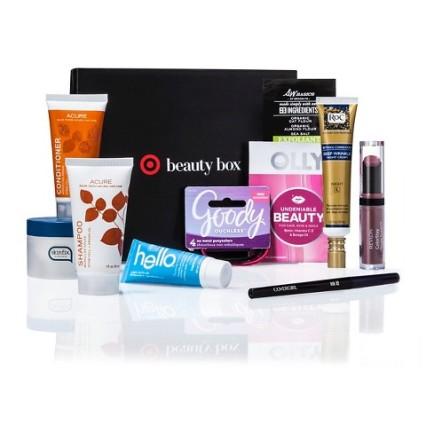 target 10 2015 target beauty box 10 a 50 value