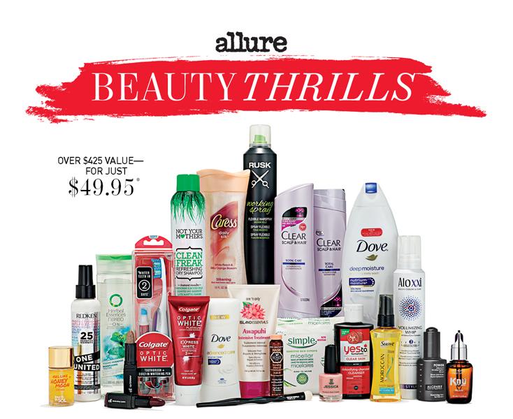 allure beauty thrills 11 2015 winter box 2015