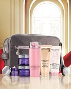 bloomingdales 11 2015 skincare set for 3950 with any lancome order