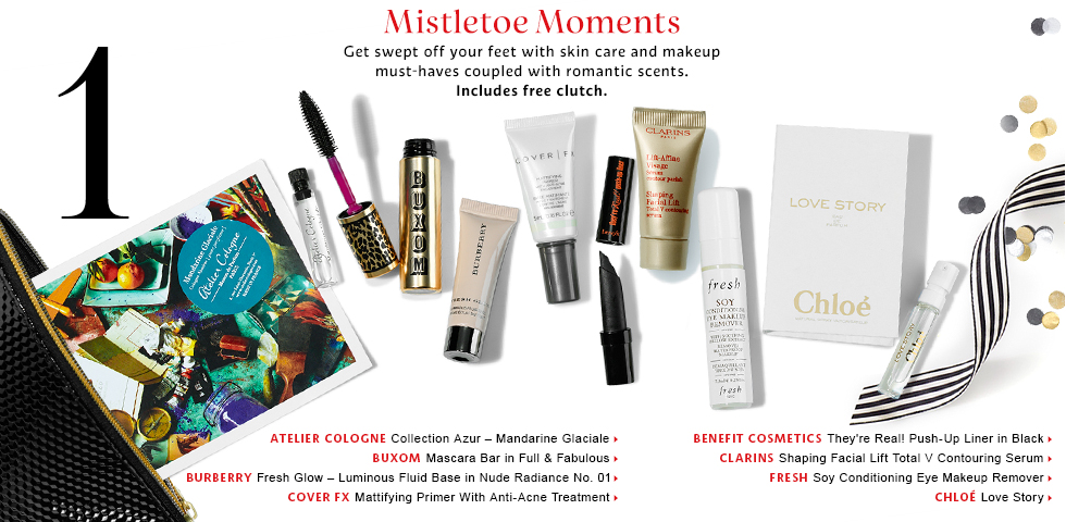 HOT* Just in – Three new holiday sample bags @ Sephora ...