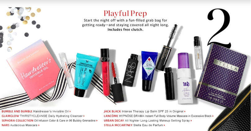 sephora 10 2015 holiday sample bags vibfavors playful prep