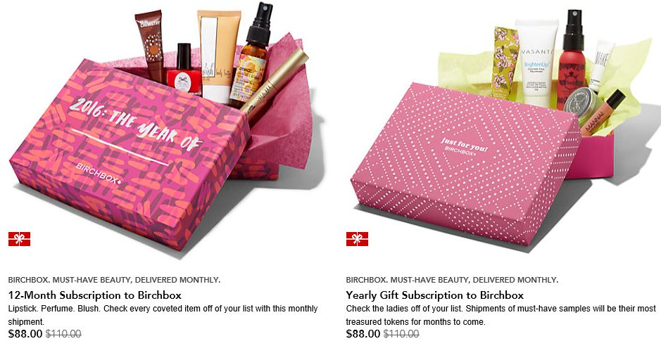 Sephora Birthday Gift 2016 Birchbox Subscription Sale Plus More