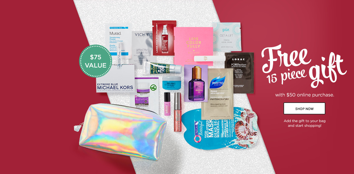 Ulta VS Beauty Brands – sample bags with $50 and more (Dec 2015 ...
