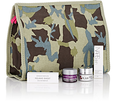 barneys warehouse 01 2016 camourflage deluxe cosmetic bag w 4p sample filled