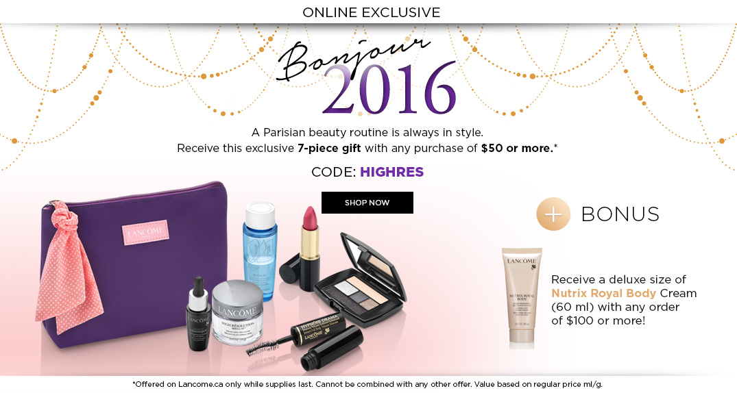 NEW* 7+5 Clinique Bonus at Lord and Taylor with $27 order and New ...