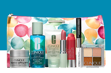First 2016 Clinique Bonus Time at Nordstrom, Gorgeous deluxe ...