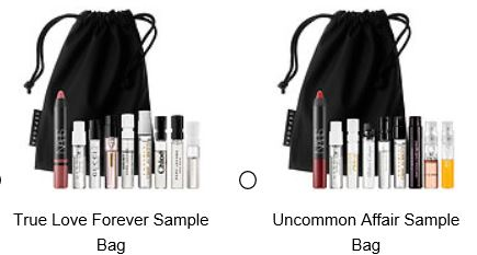 sephora 01 2016 kissme valentines sample bag