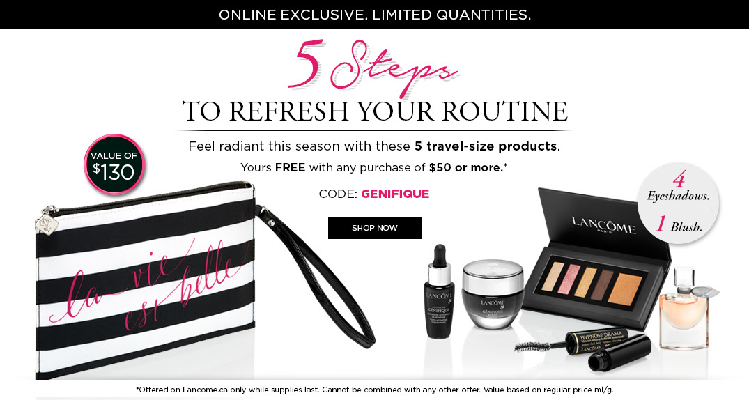 NEW* Spring 6pc Lancome Gift & 7pc Clinique Bonus @ Dillard's (FEB ...