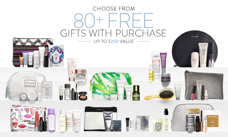HOT* Nordstrom 80+ Free Gift with Purchase & Coupons (March 2016 ...