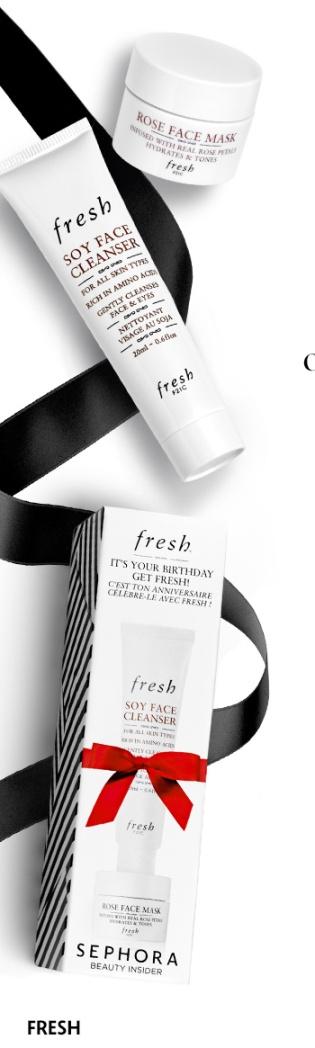 Sephora 03 2016 Birthday Gift Fresh Marc
