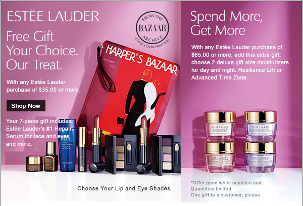 Lancome 7pc Spring Gift @ Nordstrom worth $130 | B-glowing 20% off ...