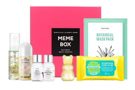 Festival Ready Skincare Box - memeBox 2016-04