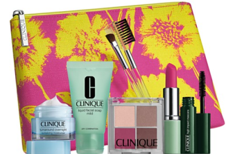 Gift with any $40 Clinique purchase - Bloomingdales 2016-04