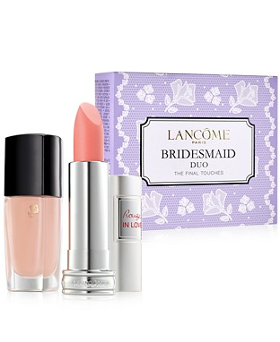 macys 042016 lancome bridesmaid duo set