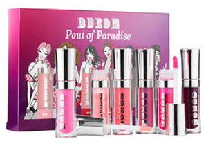 Pout Of Paradise 6-Piece Mini Full-On Lip Polish Collection - Buxom - Sephora 2016-04