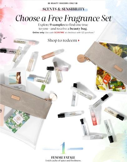 sephora 042016 scentme fragrance sample bag
