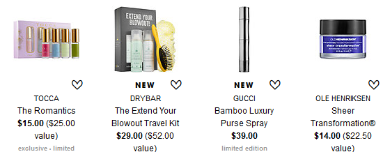 Travel Size Toiletries & Beauty Products 2016-04 sephora