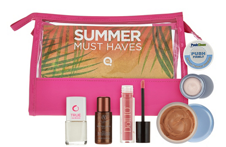 QVC Summer Must-Haves 6-pc Collection w- Travel Bag - A279708  2016-05