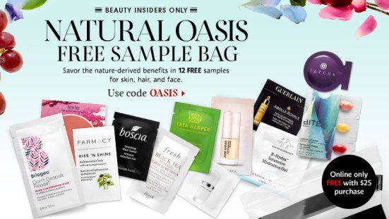 sephora coupon oasis 052016 sample bag homepage_slideshow_naturals_oasis_053116_image