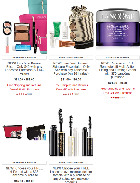 macys Lancôme Gifts with Purchase - Macy's 2016-06