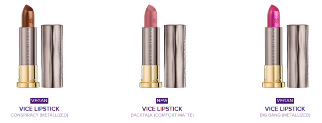 Urban Decay Vice Lipstick 2016-06 best seller