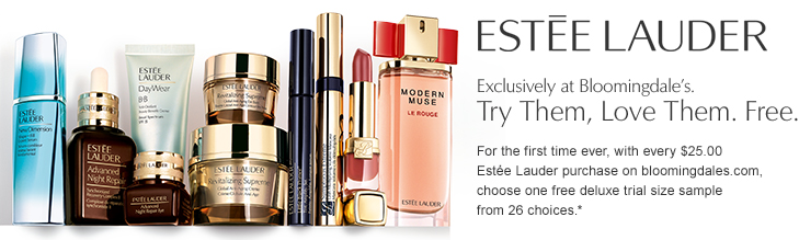 HOT* Estee Lauder Customized Gift + Free Sample-filled Bag at Lord ...
