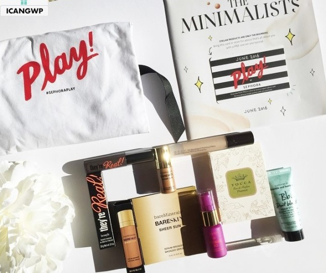 Sephora play june box icangwp all everything