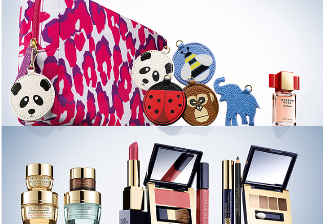 $200 value Estee Lauder 7-piece gift with purchase at Macy's ...