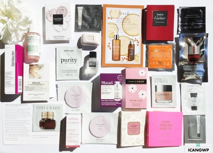 Nordstrom Free 24pc Gift with Purchase Review - see more review and free GWP at IcanGWP.com beauty blog