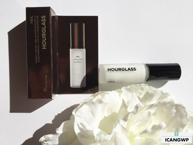 Sephora VIBICON Hourglass Primer Review - see more at IcanGWP - a beauty gift with purchase blog