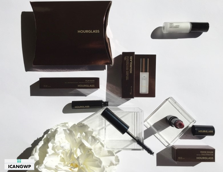 Sephora VIBICON Hourglass set Review - see more at IcanGWP - a beauty gift with purchase blog