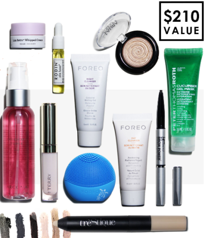 b glowing Beauty Bundle fall 2016 - see more free gift with purchase at IcanGWP beauty blog.png