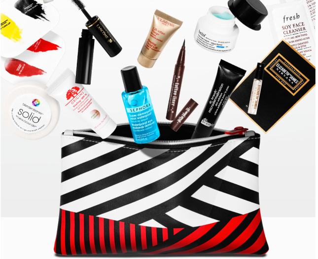 Sephora Beauty Insider APPRECIATION sample bag 2016 3 - I can GWP Beauty blog.jpg