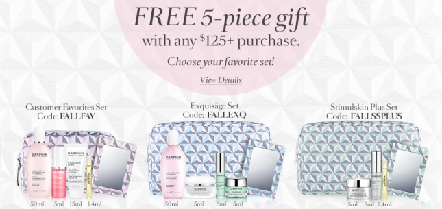 Darphin choose your free 5pc gift wiht $125 2 - see more at icanGWP beauty blog.gif