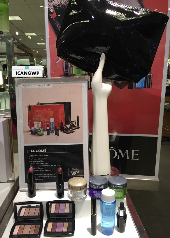 Hot Lancome 7 Piece Gift At Boscov S Vs Nordstrom Beauty