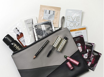 Nordstrom space nk 12 sample bag makeup - see more at icangwp beauty blog.jpeg