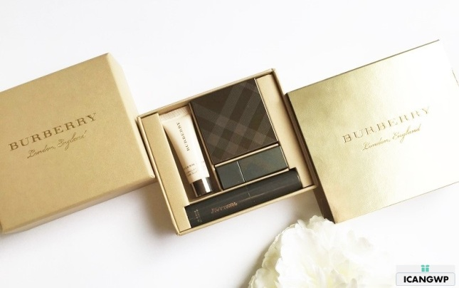 BURBERRY Festive 2016 Beauty Box Swatches and Review by I ...