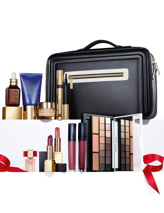 Stage stores Estee Lauder Holiday Blockbuster Set 2016 - see more purchase with purchase and gift with purchase updates at IcanGWP beauty blog.jpg