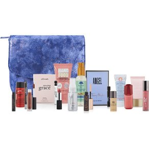 Ulta free 16pc gift with 75 one day only blue bag oct 2016 - see more at icangwp beauty blog.jpg