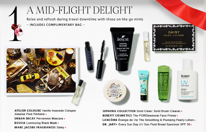 Sephora Merry Gift Bag 8-piece Sample Bag is Available Now for ...