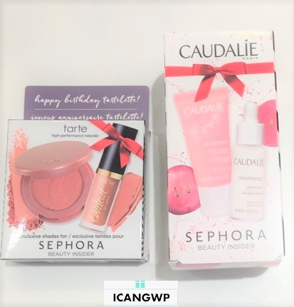 Reviews & How to Get Sephora Birthday Gifts 2017 (Tarte, Caudalie ...