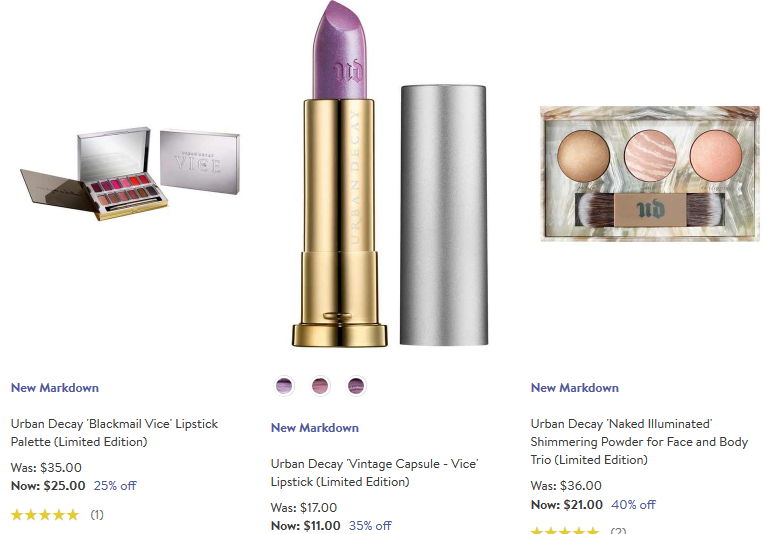 Amazon $10 Off $50 Gift Card Sale | $11 UD Vice Lipstick at ...