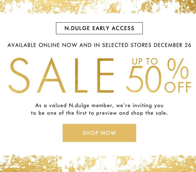 space-nk-sale-n-dulge-early-access